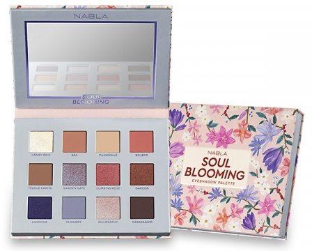 Nabla kozmetika - paleta sjenila - Soul Blooming Eyeshadow Palette